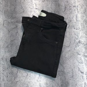 JAMIE TOP SHOP SKINNY BLACK JEANS
